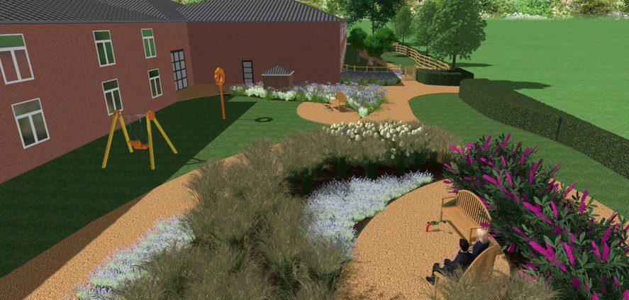 Vordering tuinproject