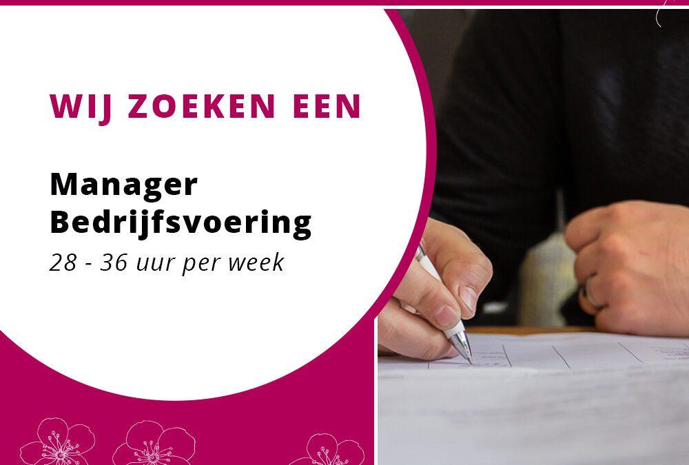 Vacature Manager Bedrijfsvoering